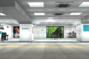 浜松駅展示会場 ピアノ