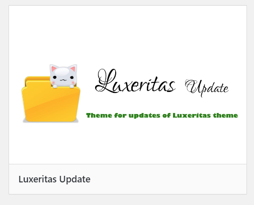 luxeritas-theme-update