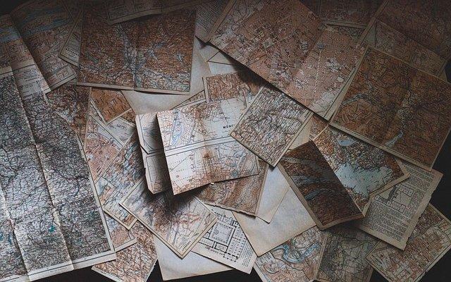 地図都市計画図