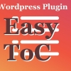 wordpress plugin easy table of contents toc
